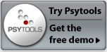 Try the Psytools demo